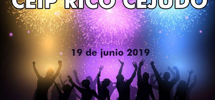 Fiesta de Fin de Curso 2018-19