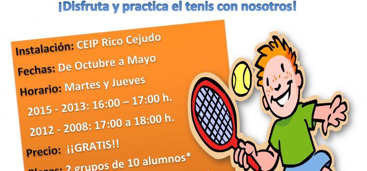 Escuela de Tenis Curso 2019/2020