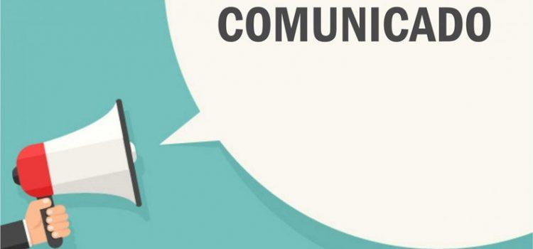 Comunicado Inicio de Curso 2020.21